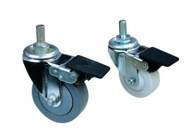 50/65/75mm diameter full brake casters