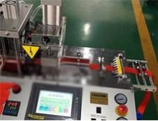 Automatic Angle Cutting Machine Hot Knife with Hole